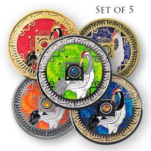 2014 Compass Rose Geocoins