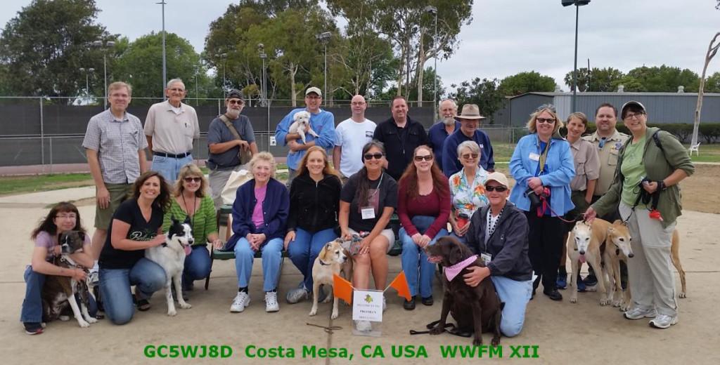 dog friendly wwfm geocaching flash mob